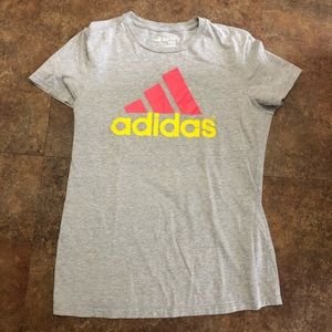 Adidas Go To Tee Shirt L Gray Size Large